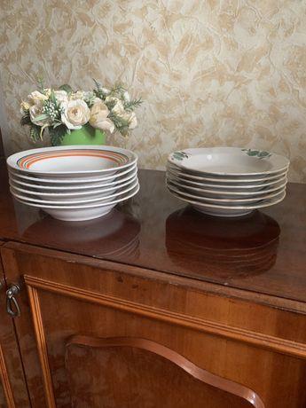 Наборы полуглубоких тарелок по 6 шт.