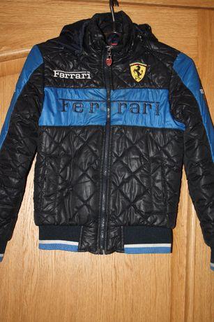 Еврозима курточка для мальчика р-128/134 в хорошем состоянии