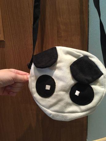 Mini torebka - panda