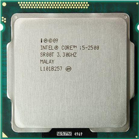 Процессор Intel Core i5 2500 Quad 4x3.3-3.7 6mb cache 5GT/s s1155 ПК