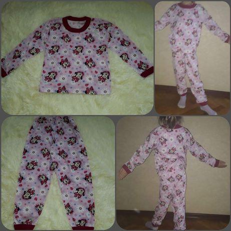 Новая пижама в садик для девочки 4-5 лет (рост 116-122)