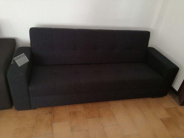 Sofá cama Belga com 220 cm novo de fábrica