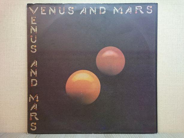 Виниловая пластинка Wings – Venus And Mars 1975 ОТЛИЧНАЯ!