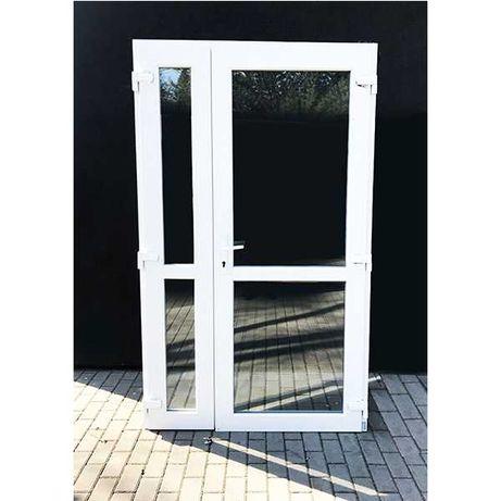 Nowe Drzwi PCV 125x210 białe