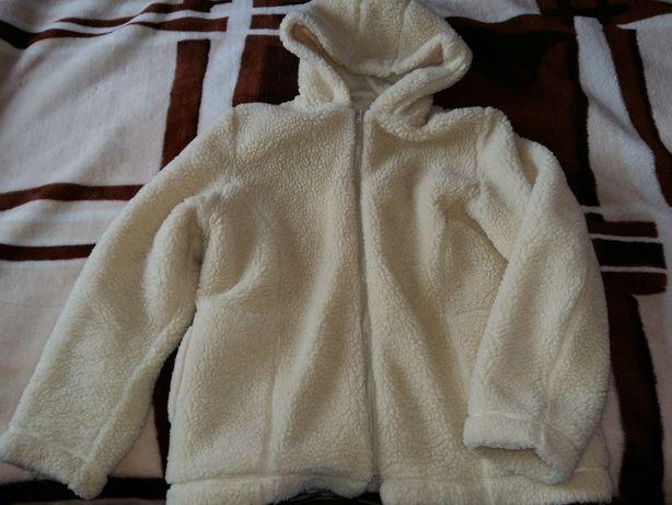 Куртка-толстовка женская из набивной овчины ф-ма Eluna р. XXXL