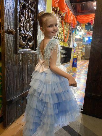 Платье фатиновое на выпускной