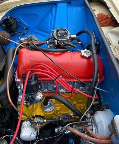 Двигатель (ДВС) ВАЗ 2106 1.7 доработанный. Мотор из новых запчастей