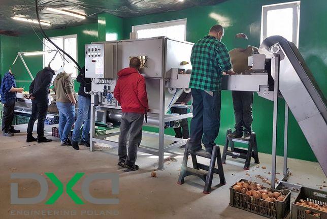 Promocja: Linia do obierania cebuli / Obieraczka DXD