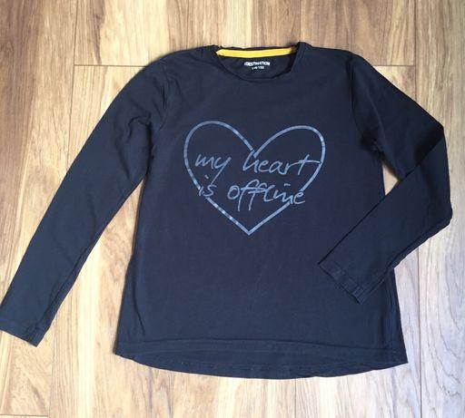 Czarna bluzka 146-152cm