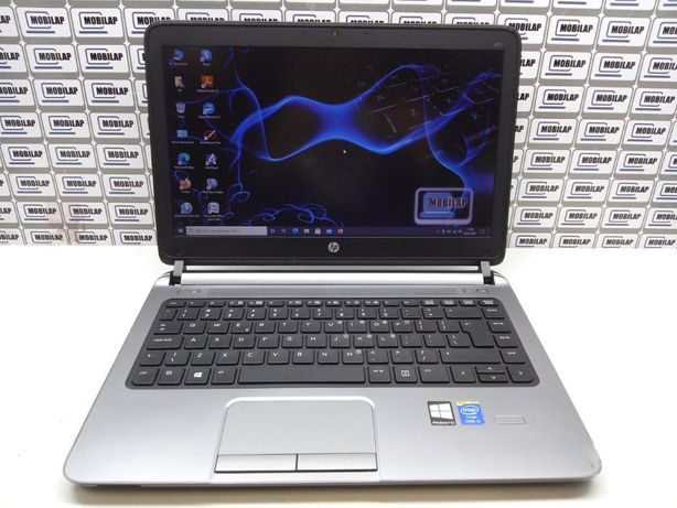 """Laptop używany HP 430 G1 i3 8GB 128 SSD 13,3"""" W10 GWARANCJA FV"""