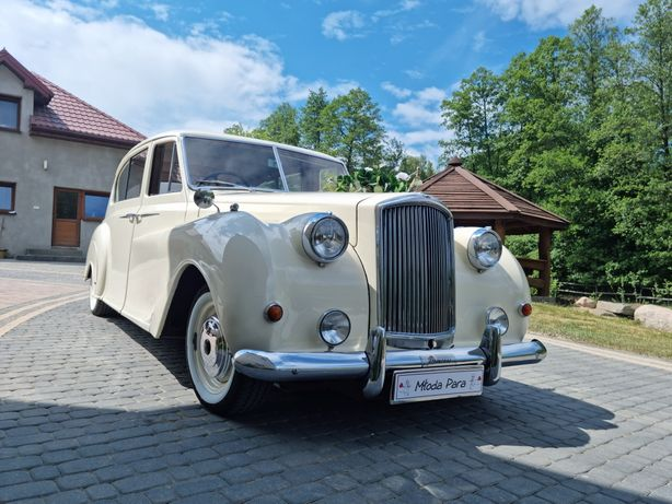 Zabytkowe Auto Samochod do Ślubu Austin Princess Retro Limuzyna Wesele