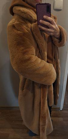 Piękne futerko,płaszczyk nowy rozm M 38