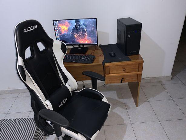 Vendo setup completo pc gamer / escritorio com ryzen 3 3200 8 Gb RAM