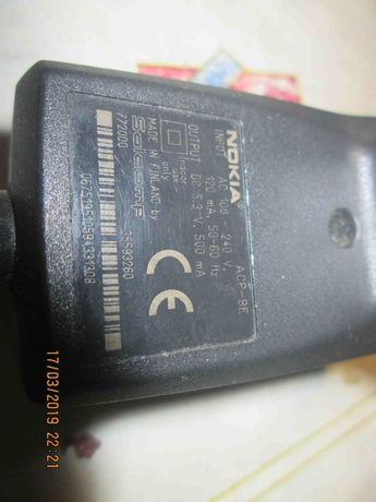 Зарядное Nokia ACP-8E Finland 3.5мм (M-S Blister)