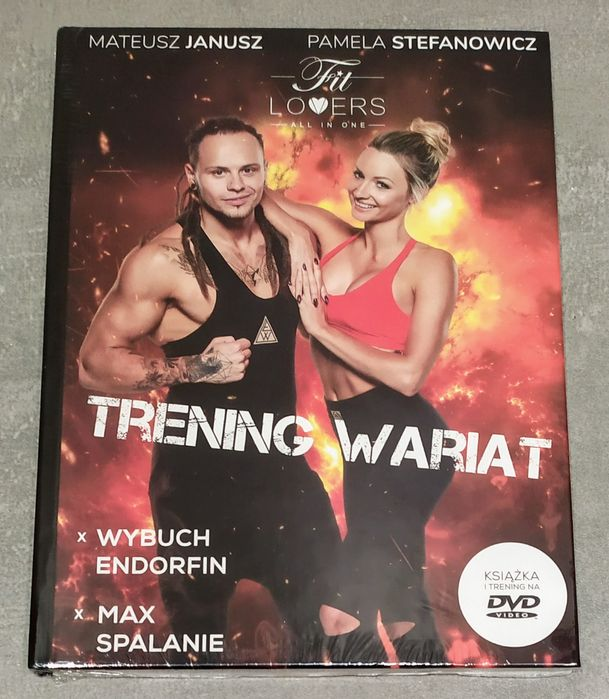 FIT Lovers Trening Wariat - książka + DVD - nowe w folii Kraków - image 1