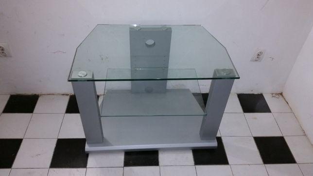 Szafka-stolik RTV szklany