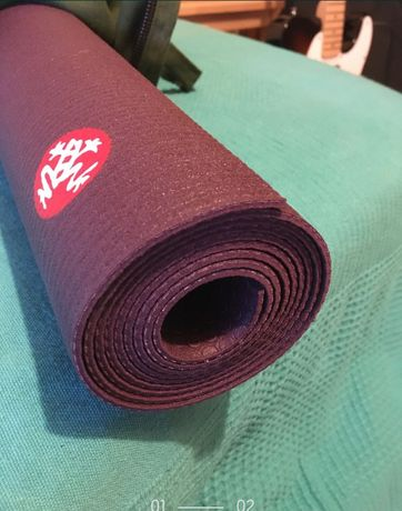 Tapete yoga Manduka PRO TRAVEL 3mm/ como novo
