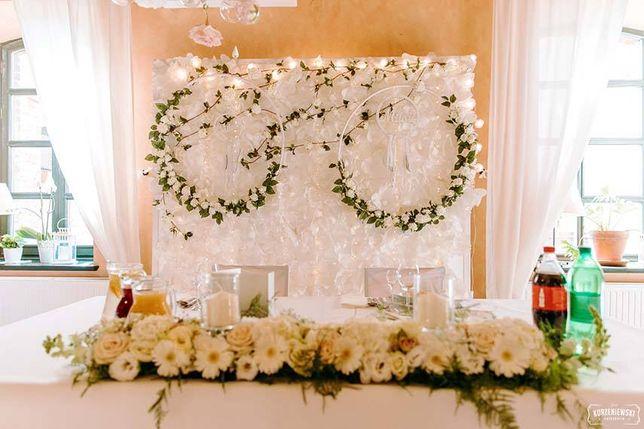 Dekoracja weselna / koła