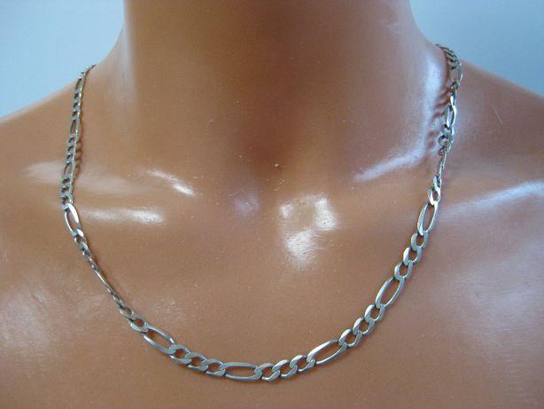 Łańcuszek męski Figaro 65cm łańcuch srebro