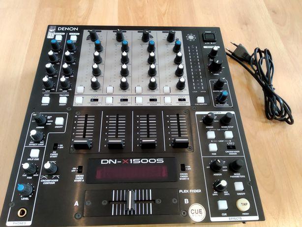 Mikser DJ Denon DN-X1500S cyfrowy, 4 - kanałowy, Denon 1500