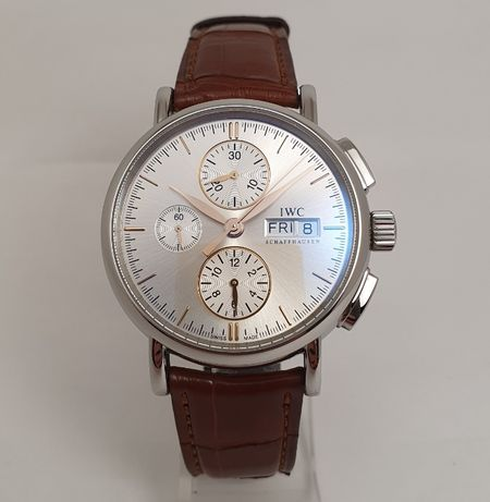 IWC Portofino chronograph Day Date IW378302