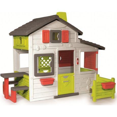 Домик с оградой Smoby Friends House 310209