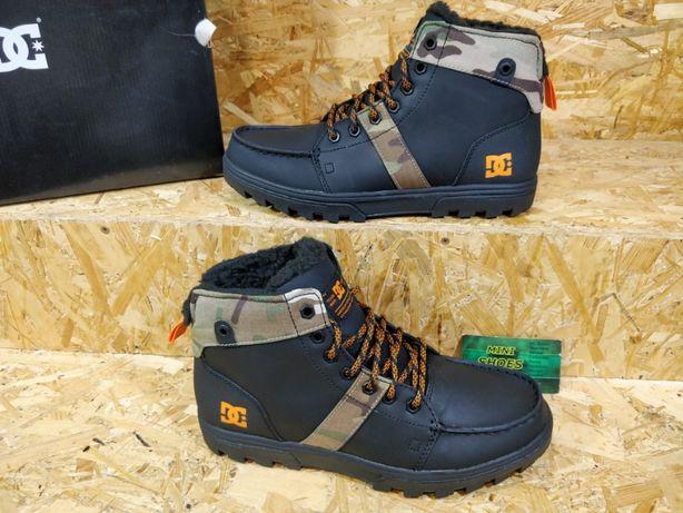 Кроссовки зимние DC Shoes Woodland ботинки Новые Оригинал 41 42