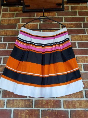 Rozszerzana, kolorowa spódniczka Dan Hen