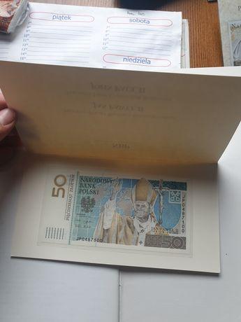 50 zł z 2006 roku banknot kolekcjonerski ciekawy numer