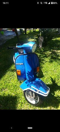 Vespa 50 XLS azul