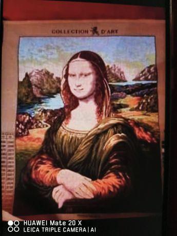 Tela (estampa) nova Mona Lisa