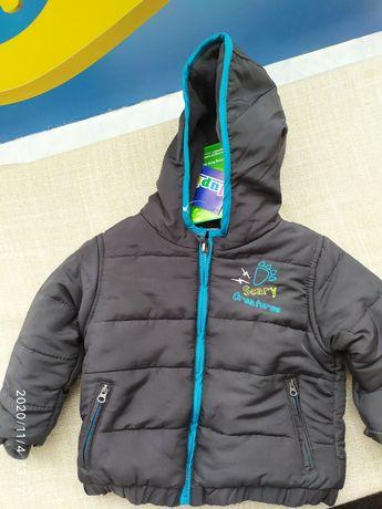 Демі/єврозима куртка lupilu