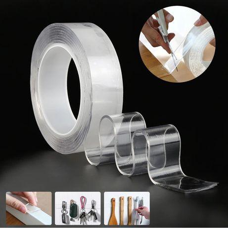 Многоразовая крепежная лента 5 м Ivy Grip Tape. Клейкая лента.