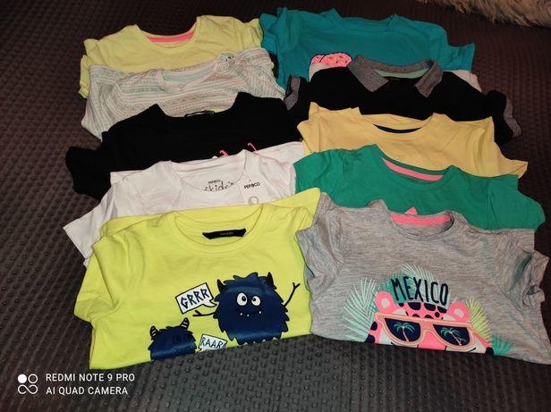 Bluzeczki krótki rękaw 92