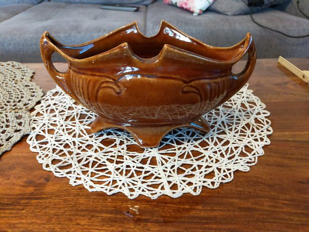 Stara ceramika żardiniera