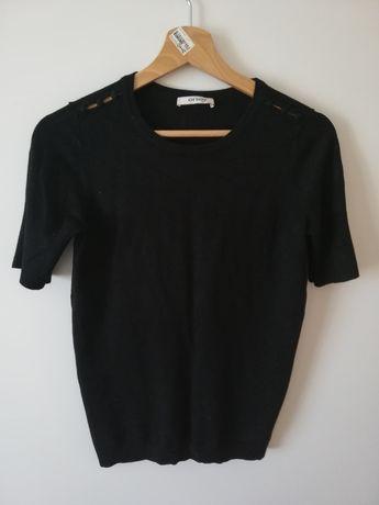 Bluzka sweterkowa z krótkim rękawem Orsay rozmiar M