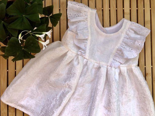 Платье для новорожденной принцессы-на выписку, крестины...