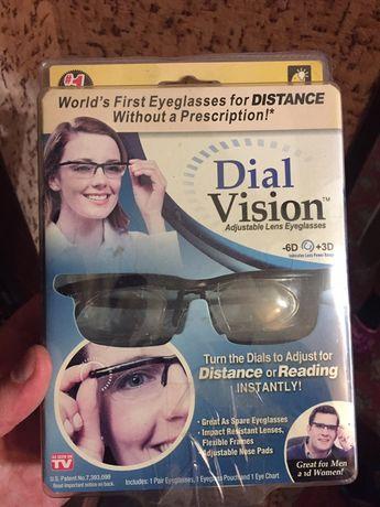 Очки универсальные для зрения Dial Vision с регулировкой