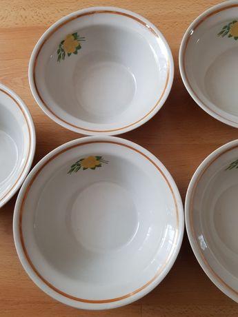 Miseczki z PRL ceramiczne z Białorusi, sygnowane DOBRUSZ