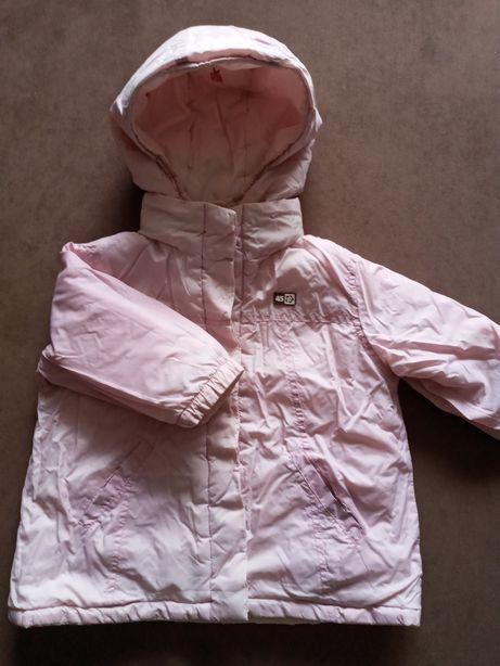 Курточка демісезонна, двобічна для дівчинки 2-4 рочки