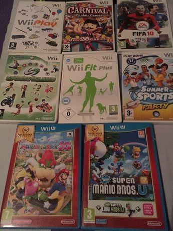 Jogos Wii e Wii U