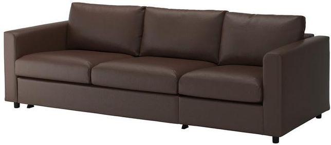 Sofa 3-osobowa NOWA, kanapa, wzmacniane podłokietniki