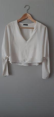 Blusa branca Zara tam. S