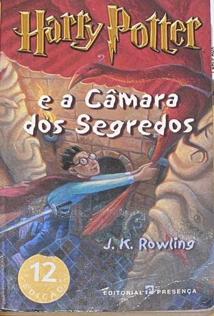 Harry potter  e a camara dos segredos em muito bom estado