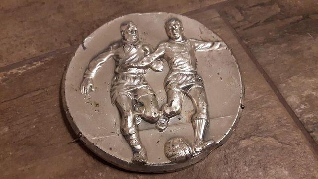 Tabliczka piłkarska z dawnych lat