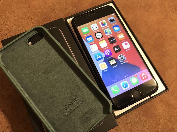 Iphone 7 128gb jet black neverlock, отличный, еще на гарантии