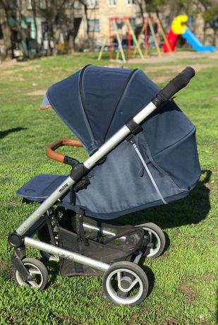 Прогулочная коляска Mutsy NEXO Blue Melange