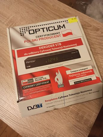 Dekoder DVBT Opticum