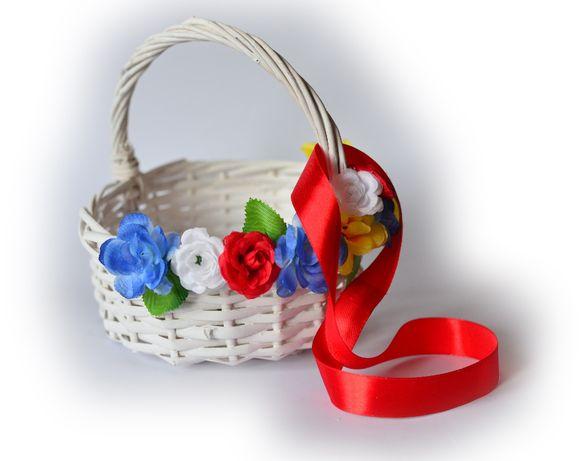 Koszyczek na boże ciało do sypania kwiatków /kotylionów gratis wysyłka