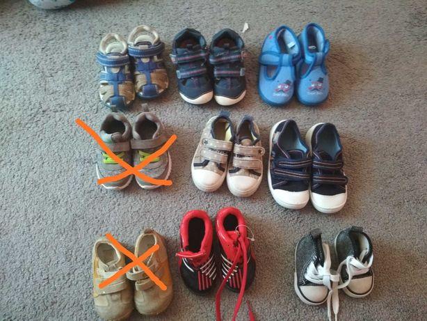 Buty dziecięce różne rozmiary